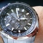 腕時計を変えた