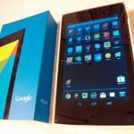 Nexus7(2012)からNexus7(2013)に乗り換えてみて