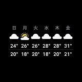 天気予報5ページ目スクリーンショット